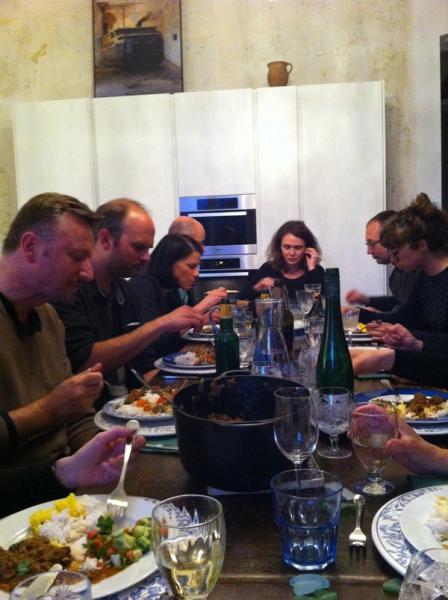 sibylle omlin_SalonNomade_04_Diner bei Christine